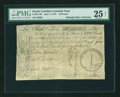 Colonial Notes:South Carolina, South Carolina June 1, 1775 £10 PMG Very Fine 25 NET....