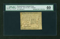 Colonial Notes:Pennsylvania, Pennsylvania June 18, 1764 5s PMG Extremely Fine 40....