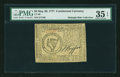 Colonial Notes:Continental Congress Issues, Continental Currency May 20, 1777 $8 PMG Choice Very Fine 35 EPQ....