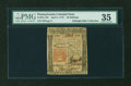 Colonial Notes:Pennsylvania, Pennsylvania April 3, 1772 40s PMG Choice Very Fine 35....