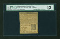 Colonial Notes:Pennsylvania, Pennsylvania March 10, 1769 1s PMG Fine 12....