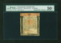 Colonial Notes:Pennsylvania, Pennsylvania March 20, 1771 10s PMG About Uncirculated 50 NET....