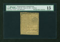 Colonial Notes:Pennsylvania, Pennsylvania March 10, 1769 2s PMG Choice Fine 15....