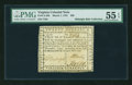 Colonial Notes:Virginia, Virginia March 1, 1781 $20 PMG About Uncirculated 55 EPQ....