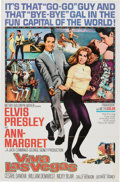 Music Memorabilia:Posters, Elvis Presley Related - Viva Las Vegas Movie Poster....