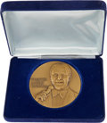 Movie/TV Memorabilia:Awards, Frank Sinatra Bronze Art Medallion....