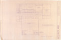 Movie/TV Memorabilia:Documents, Frank Sinatra Related - Jilly Rizzo's Blueprints for Jilly'sWest....