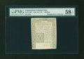 Colonial Notes:Connecticut, Connecticut June 19, 1776 1s PMG Choice About Unc 58 EPQ....