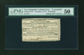 Colonial Notes:New Hampshire, New Hampshire November 3, 1775 30s Counterfeit PMG AboutUncirculated 50....