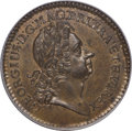 1723 2PENCE Rosa Americana Twopence MS63 Brown PCGS