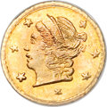 California Fractional Gold, 1870 25C Liberty Round 25 Cents, BG-807, Low R.7, MS64 PCGS....