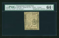 Colonial Notes:Pennsylvania, Pennsylvania October 25, 1775 4d PMG Choice Uncirculated 64 EPQ....