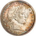 Barber Quarters, 1916-D 25C MS67 NGC. CAC....