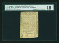 Colonial Notes:Rhode Island, Rhode Island June 16, 1775 10s PMG Very Good 10....