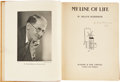 Books:Signed Editions, W. Heath Robinson. My Line of Life. London and Glasgow: Blackie & Son Limited, 1938. First edition. Signed by th...