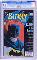 Modern Age (1980-Present):Superhero, Batman-Related CGC-Graded Group (DC, 1986-88).... (Total: 3 ComicBooks)