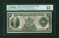 Canadian Currency: , Montreal, PQ- The Royal Bank of Canada $50 Jan. 3, 1927 Ch. #630-14-16. ...