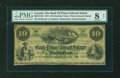 Canadian Currency: , Charlotte Town, PEI- Bank of Prince Edward Island $10 Jan. 1, 1872Ch. # Ch. 600-12-14R. ...