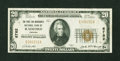 National Bank Notes:Virginia, Radford, VA - $20 1929 Ty. 1 The First & Merchants NB Ch. #6782. ...