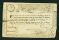 Colonial Notes:Continental Congress Issues, State of Massachusetts Bay £150 Treasury Certificate Advance Pay toOfficers, Second Moiety at 6% Interest July 20, 1779. Ande...