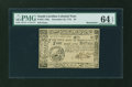 Colonial Notes:South Carolina, South Carolina December 23, 1776 $4 PMG Choice Uncirculated 64EPQ....