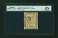 Colonial Notes:Pennsylvania, Pennsylvania October 25, 1775 9d PMG Gem Uncirculated 65 EPQ....