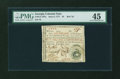 Colonial Notes:Georgia, Georgia June 8, 1777 $5 PMG Choice Extremely Fine 45....