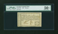 Colonial Notes:Georgia, Georgia 1776 6d PMG About Uncirculated 50 EPQ....