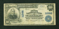 National Bank Notes:California, Willits, CA - $10 1902 Plain Back Fr. 633 The First NB Ch. # 11566....