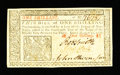 Colonial Notes:New Jersey, New Jersey March 25, 1776 1s Extremely Fine....