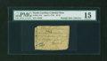 Colonial Notes:North Carolina, North Carolina April 2, 1776 $1/16 Beetle PMG Choice Fine 15....