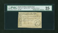 Colonial Notes:South Carolina, South Carolina April 10, 1778 7s6d PMG Very Fine 25....