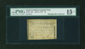 Colonial Notes:North Carolina, North Carolina April 2, 1776 $6 Squirrel PMG Choice Fine 15 NET....