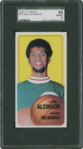 Basketball Cards:Singles (1970-1979), 1970-71 Topps Lew Alcindor #75 SGC 88 NM/MT 8....