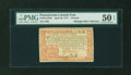 Colonial Notes:Pennsylvania, Pennsylvania April 10, 1777 £4 Red and Black PMG About Uncirculated50 EPQ....