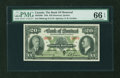 Canadian Currency: , Montreal, PQ- The Bank of Montreal $20 Jan. 3, 1938 Ch. # 505-62-06. ...