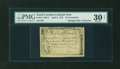Colonial Notes:North Carolina, North Carolina April 2, 1776 $5 Triton Contemporary Counterfeit PMGVery Fine 30 NET....