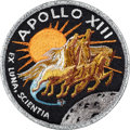 Explorers:Space Exploration, Apollo 13 Flown Embroidered Mission Crew Patch Directly from thePersonal Collection of Mission Commander James Lovell, Signed...