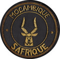 Explorers:Space Exploration, Apollo 13 Flown Moçambique Safrique Embroidered Patch Directly fromthe Personal Collection of Mission Commander James Lovell,...