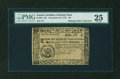 Colonial Notes:South Carolina, South Carolina December 23, 1776 $6 PMG Very Fine 25....