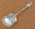 Silver Flatware, American:Durgin, AN AMERICAN SILVER BERRY SPOON. William B. Durgin Co., Concord, NewHampshire, circa 1899. Marks: D, STERLING. 8-3/4 inc...