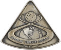 Explorers:Space Exploration, Apollo 8 Flown Silver Robbins Medallion Directly from the PersonalCollection of Mission Command Module Pilot James Lovell, Se...