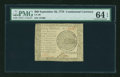 Colonial Notes:Continental Congress Issues, Continental Currency September 26, 1778 $60 PMG Choice Uncirculated64 EPQ....