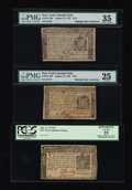 Colonial Notes:New York, Three Pleasing August 13, 1776 New York Colonial Notes. ... (Total:3 notes)