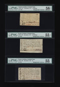 Colonial Notes:North Carolina, 1771 North Carolina Notes.... (Total: 3 notes)