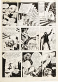 Original Comic Art:Panel Pages, Will Eisner - The Spirit #2, page 5 Original Art (Harvey, 1967)....