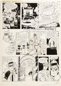 Original Comic Art:Panel Pages, Will Eisner - The Spirit #2, page 4 Original Art (Harvey, 1967)....