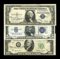 Small Size:Group Lots, Georgia Neese Clark Autographed Trio.. ... (Total: 3 notes)