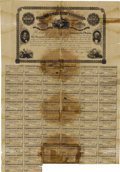 Confederate Notes:Group Lots, Richmond, VA- Commonwealth of Virginia $1000 Bond 1864 Cr. 64A. ...