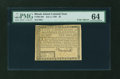 Colonial Notes:Rhode Island, Rhode Island July 2, 1780 $5 PMG Choice Uncirculated 64....